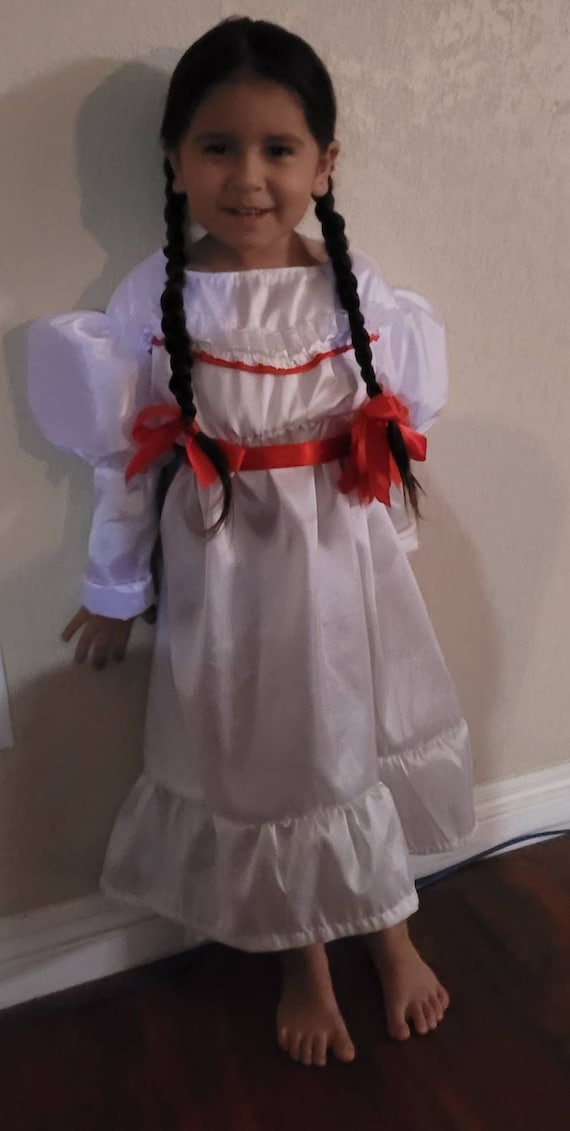 Annabell, Annabell Costume, Annabell Doll Costume. Doll Cosplay, Annabelle Creation, The Conjuring Doll Costume. Made in USA size 2t-8