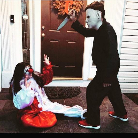 ADULT/Jamie Lloyd, Jamie Lloyd Clown Set, Preteen, Teen Adult Clown, Michael Myers, Halloween Sequel, Halloween, Jamie Lee Curtis cosplay
