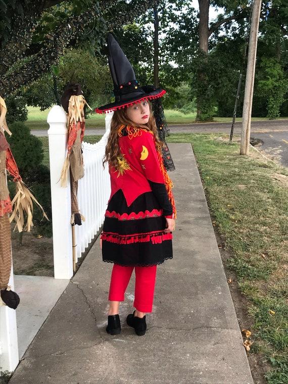 Child Dani Dennison Costume, Hocus Pocus, Child Costume , Disney Hocus Pocus, Vintage Witch Costume, 5 Pc Set, 25th Anniversary Hocus Pocus