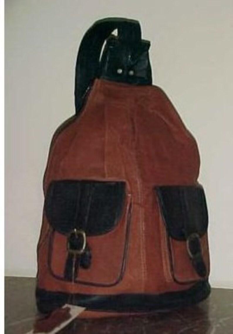 a1c0d30e6c9f2 Torba plecak duży torba Hobo plecak skórzany torebki torby | Etsy