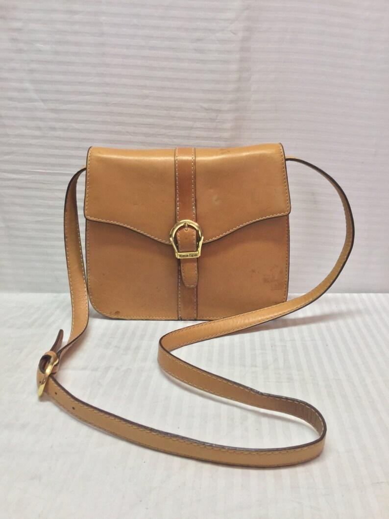 737a7ba67302e Etienne Aigner Ledertasche Handtasche Saddle Bag