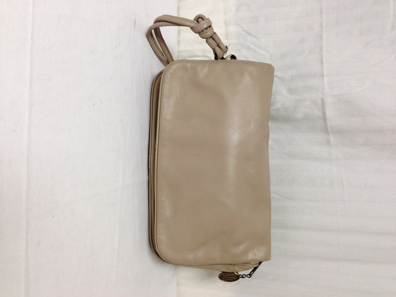 Stone Mountain Leather Pursebag Tan Leather Shoulder Bag Etsy