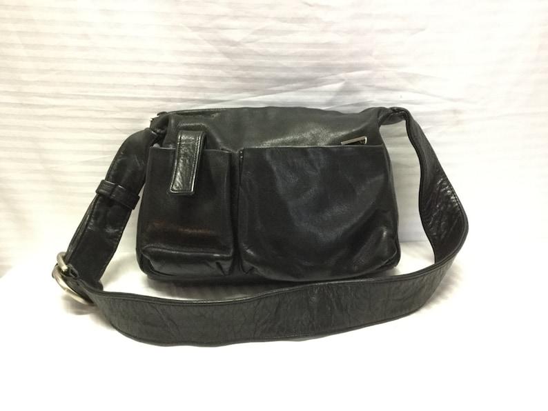 acc0f0e00a Perlina leather purse Bags Purses Black LeatherShoulder