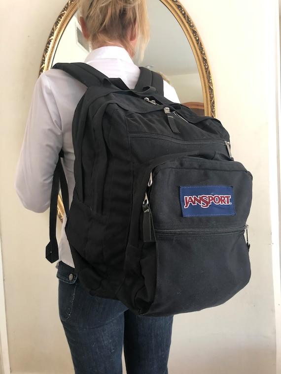 Jansport backpack bag, large black backpack