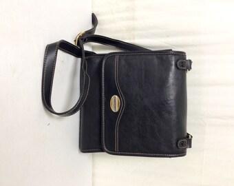 Carryland Purse ,Cross Body ,Shoulder Bag ,Organizer bag,Black,faux leather