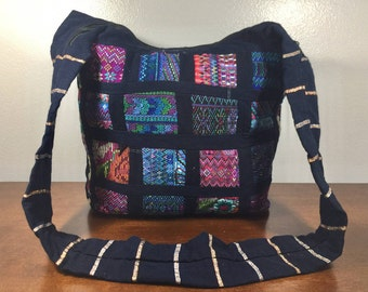Large Embroidered Purse, Cross Body, Shoulder Bag, Boho Bag, Blue, Red, Green, Orange