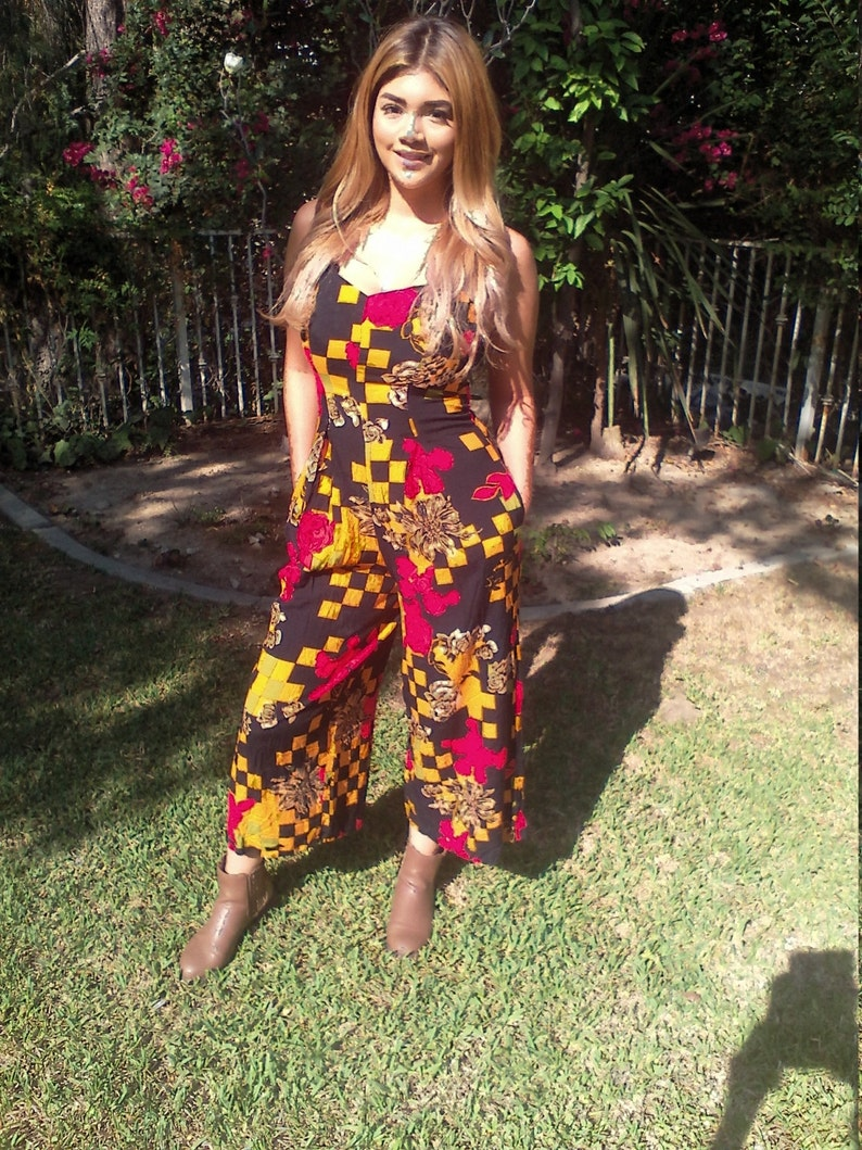 Roses,Black,Gold Medium Dress Skirt Culottes Dress Red Summer Green