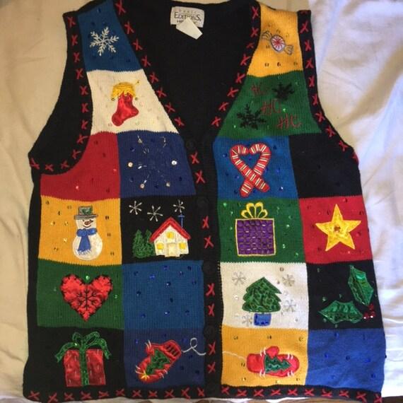 image 0 - Christmas Sweater Vest