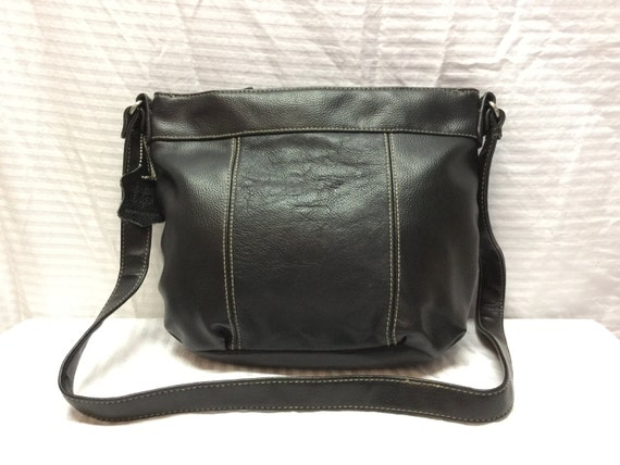 1b425b364e48 Black Leather Purse Bag Shoulder Bag
