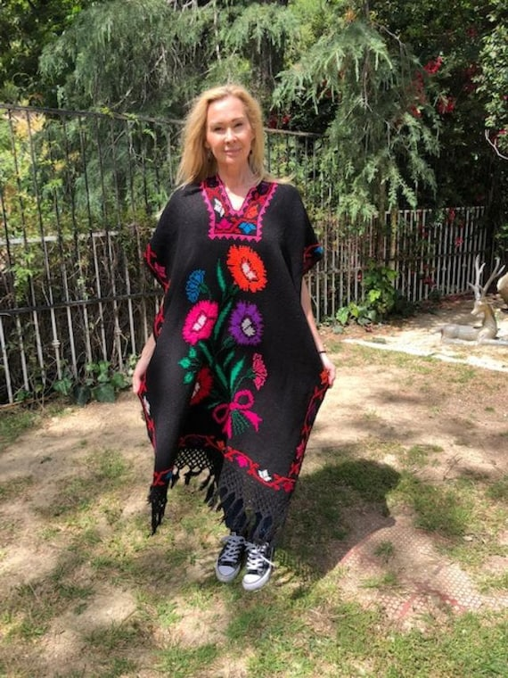 Poncho top,, Black,Pink,red,green,Indian poncho,Et