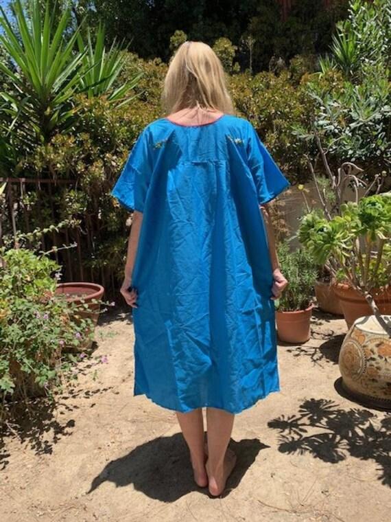 Oaxaca dress, embroidered dress, Mexican dress, B… - image 4