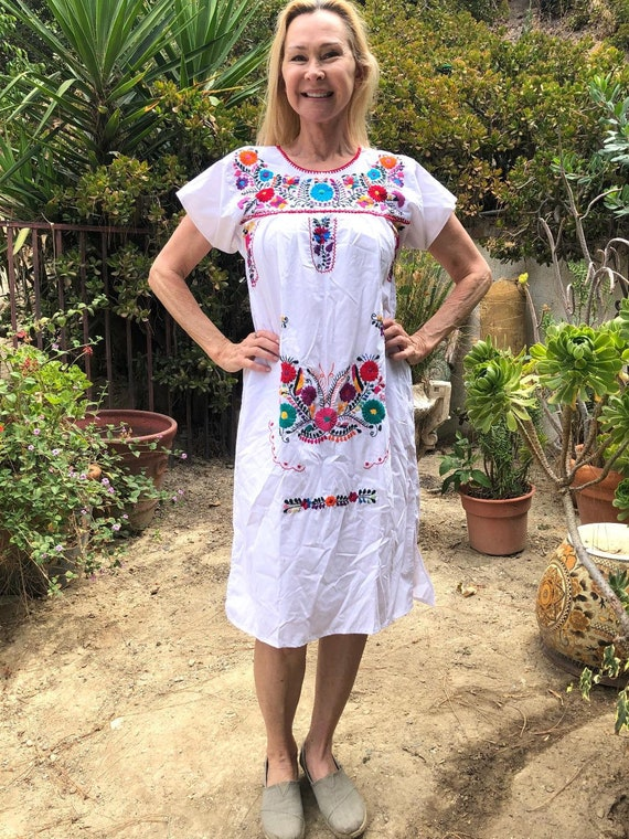 Oaxaca dress, Mexican dress,Small,S, Indian dress,