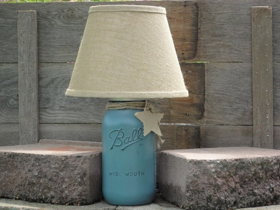 Bedroom Lamp, Bedside Table Lamps, Bedside Lamp, Mason Jar Lamp, Unique  Lamp, Bedroom Decor, Nursery Lamp, Nursery Decor