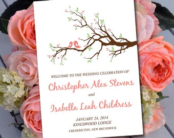 fold over wedding place card template escort card love etsy. Black Bedroom Furniture Sets. Home Design Ideas