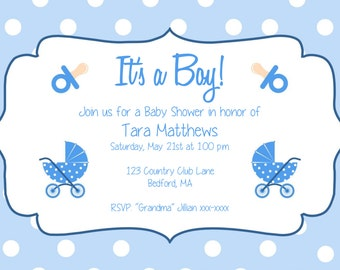 baby q baby shower invitation template download black kraft etsy