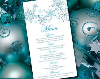 coral wedding menu card template wedding reception menu etsy