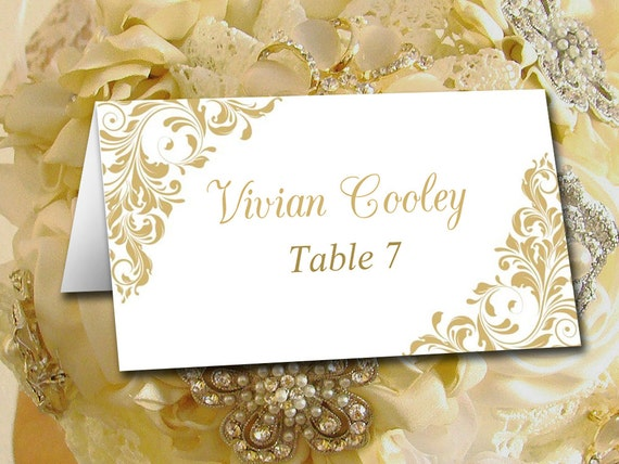 diy wedding place card template printable tent escort card etsy