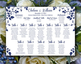 """Vintage Wedding Seating Chart Download 