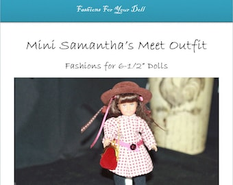 Print Pattern Mini Samantha's Meet Outfit