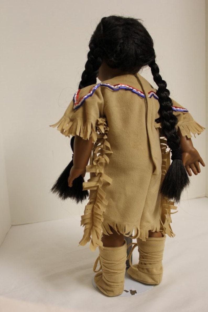 1760/'s Nez Perse Adorned Deerskin Dress