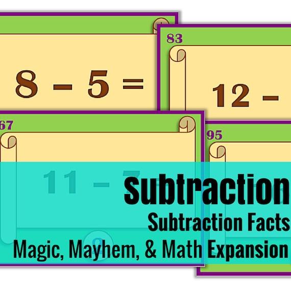 Expansion Set: Magic, Mayhem, and...Math Subtraction Facts