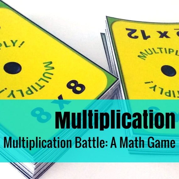 Multiplication Battle: A Fun Way to Practice Multiplication Facts