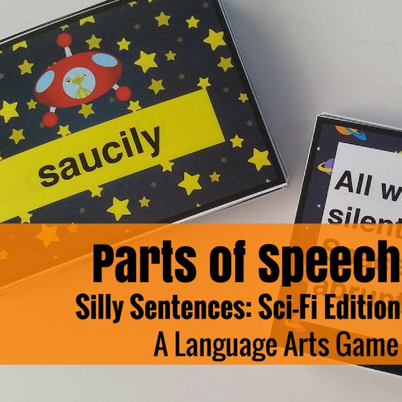 Silly Sentences: Science Fiction Version  Language Arts Game