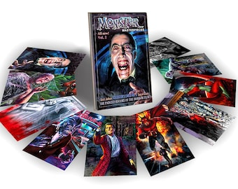 NEW VOL. 2 Horror Movie Trading cards - Monster Masterpieces Vol. 2 by Scott Jackson - classic horror movies