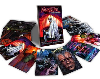 Vol. 1 Horror Movie Trading cards - Monster Masterpieces by Scott Jackson - classic horror movies