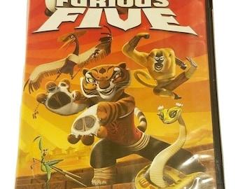Kung Fu Panda/ Secrets Of The Furious Five Dvd 2008 2-Disc Set Widescreen Family