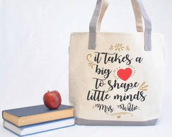 4946e505e1 Teacher tote bag