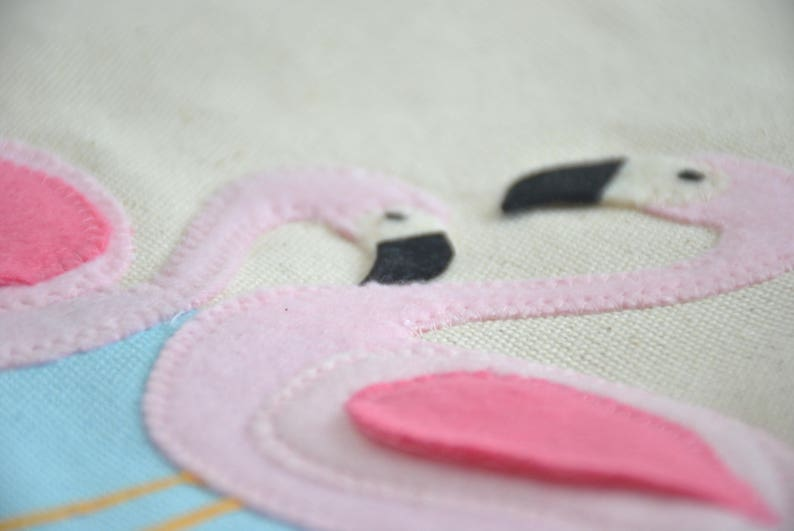 swim Bag Welcome Bag pink flamingo.Big Sister Kit Pool Bag flamingo party theme tote. Beach Bag Large Flamingo Tote  Bag