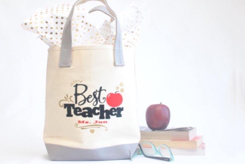 Teacher tote bag Teacher appreciation gift Teacher gift Personalized Teacher Tote Bag Kindergarten teacher tote|Preschool teacher gift