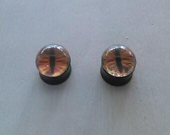 9/16 cat eye plugs