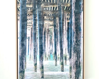 Quiet Perspective - Framed 24x36 Limited Edition Photo Encaustic