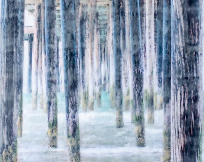 Quiet Perspective - Limited Edition Photo Encaustic Painting - Framed