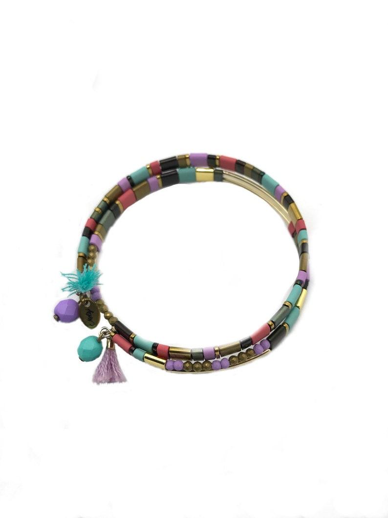 Mosaic Bracelet by Melizi jewelry Damaris