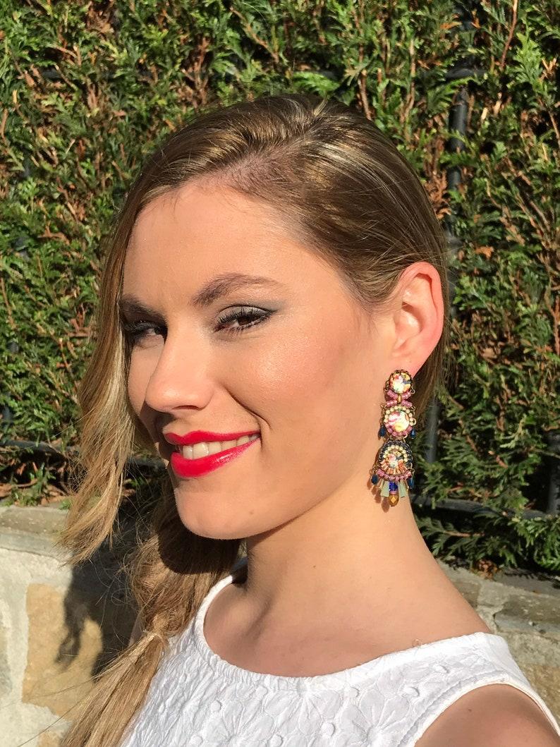 Happy Roze Earrings