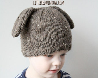 Baby Dog Hat KNITTING PATTERN   Baby Hat Dog   Baby Boy Puppy Hat   Newborn  Puppy Hat   Puppy Hat   Puppy Dog Photo Prop   Dog Beanie 09af3d63a91