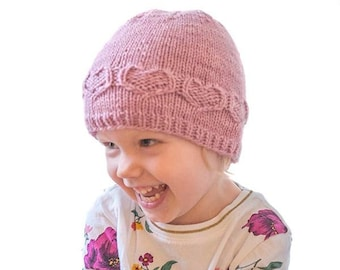 Sweetheart Hat KNITTING PATTERN   Heart Hat Pattern   Valentine Hat   Baby  Valentine Hat   Baby Heart Hat Valentine s Day Hat feb49e685713