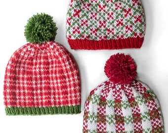 Christmas Knitting Patterns For Babies.Save 20 5 Christmas Hat Knitting Patterns Christmas Hat
