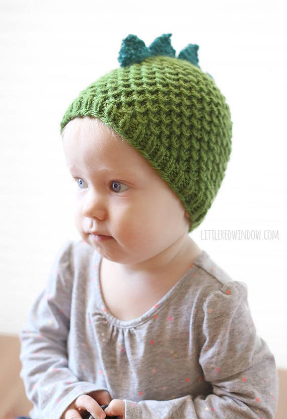 0641de16c45 Dragon Hat Pattern KNITTING PATTERN for babies and toddlers