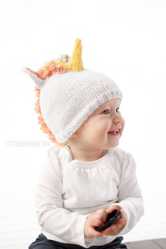 Baby Unicorn Hat KNITTING PATTERN / Unicorn Pattern / Unicorn | Etsy