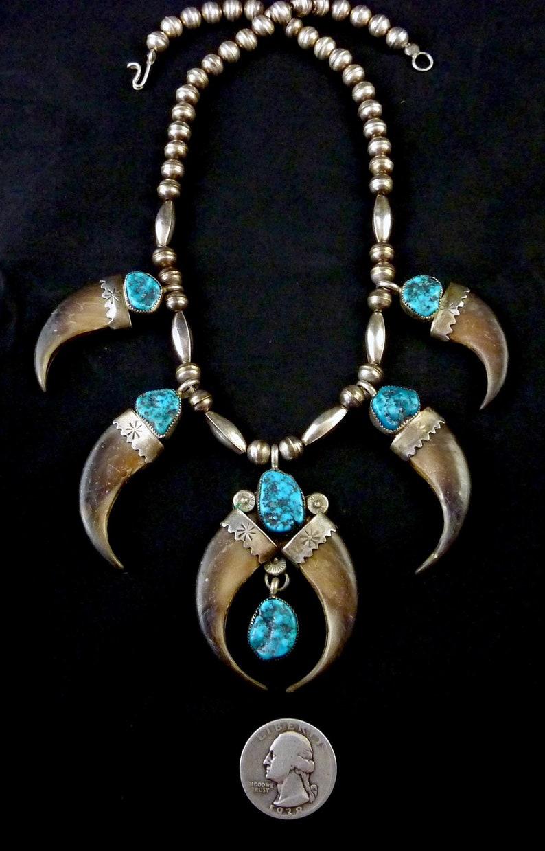 62d551713 Elegant Vintage Navajo 54g Sterling Silver Squash BLossom | Etsy