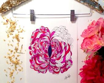 Vagina Art Print - Beauty
