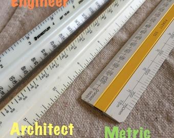 Henschell Engineer Scale ruler