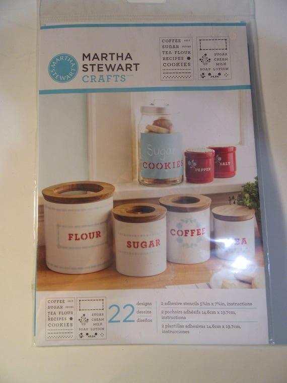 Martha Stewart Kitchen Stencils Etsy