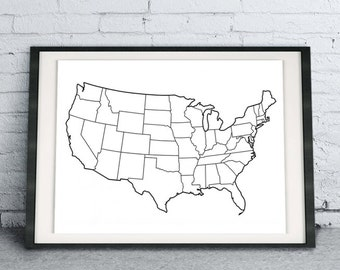 image relating to Printable Electoral College Map identify Election map Etsy
