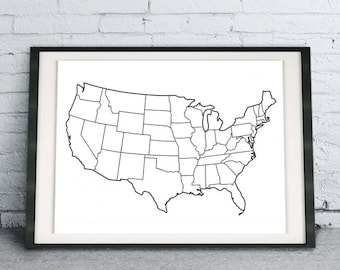 graphic relating to Printable Electoral College Map identify Election map Etsy