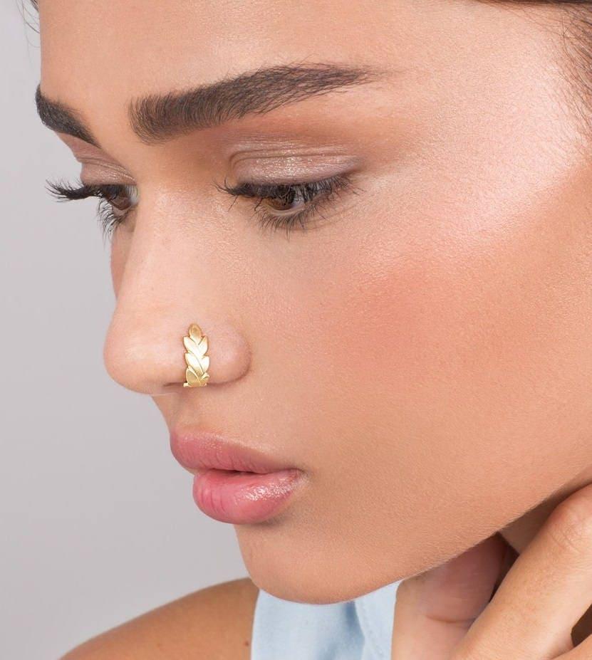 случаи, что фото пирсинга в носу кольцо многопалубным, плоскодонным десантным